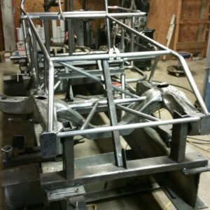 PCD Race Cars Dirt Modified Chassis Frame Builders